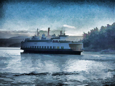 Photograph - The Ferry by Roberta Byram