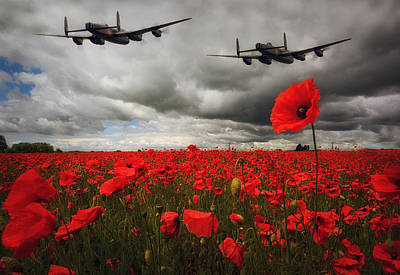Bomber Command Photograph - The Few by Jason Green