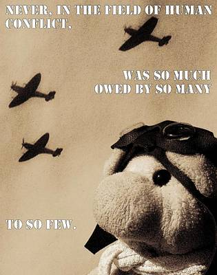 Photograph - The Few by Piggy