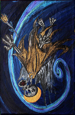 The Fffallen Angel Art Print