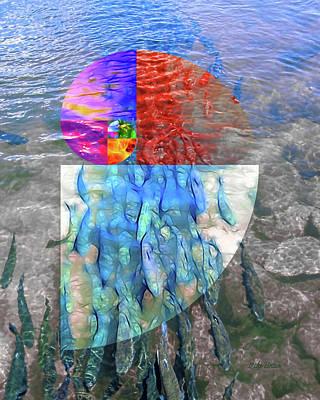 Digital Art - The Fibonacci Migration by Mike Braun