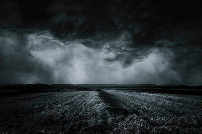 Storm Clouds Wall Art - Photograph - The Field by Stefan Eisele