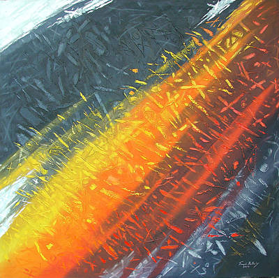 Painting - The Fifth Horizon   by Saadi Babely