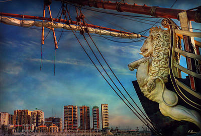 Photograph - The Figurehead by Hanny Heim