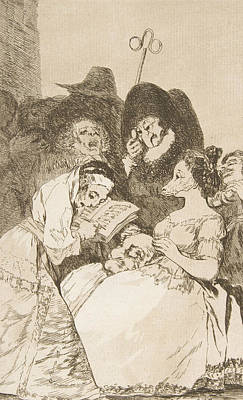 Relief - The Filiation by Francisco Goya