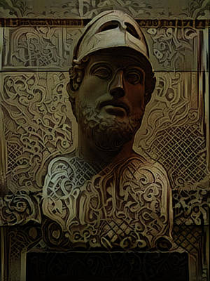 Digital Art - The Filigree Roman by Steve Taylor