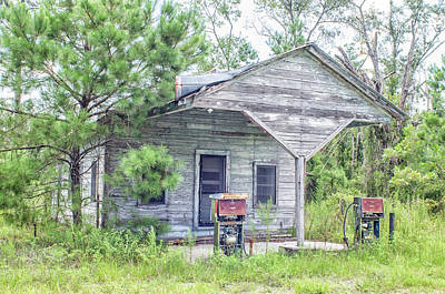 Photograph - The Filling Station by Ronald Broome