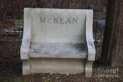Photograph - The Final Sitting Place Of Mckean by John Telfer