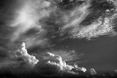 The Fine Art Of Clouds Art Print by Jim  Darnall