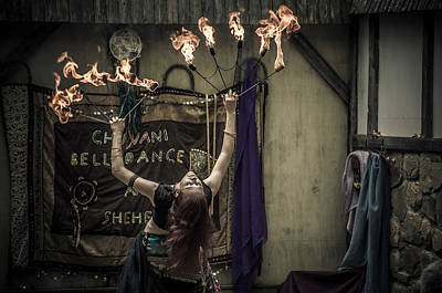 Photograph - The Fire Dancer by Kristy Creighton