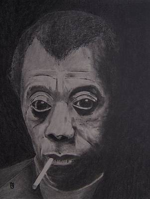 African-american Drawing - The Fire Next Time by Nick Young