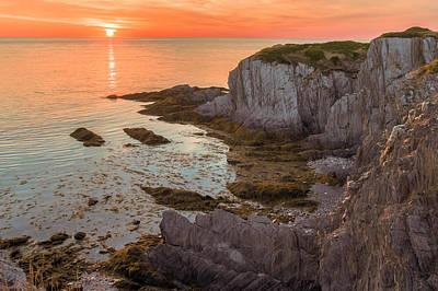 Photograph - Nova Scotian Sunset by Garvin Hunter