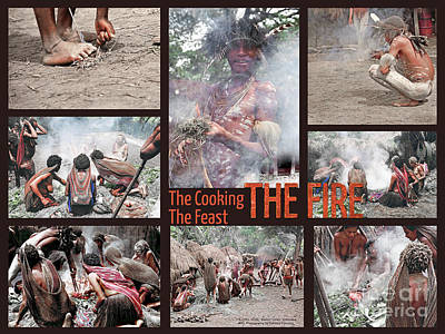 Photograph - The Fire - The Cooking - The Feast by Gabriele Pomykaj
