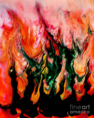 Photograph - The Fire Worshipers by Michael Arend