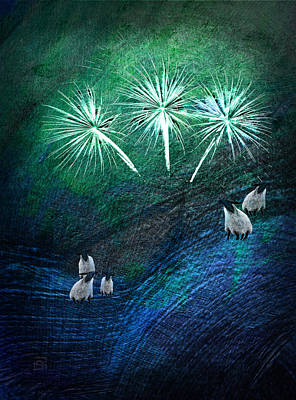 The Fireworks Are Starting Art Print