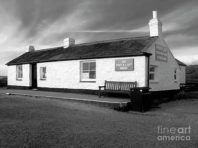 Photograph - The First And Last House Cornwall by Terri Waters