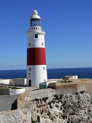 Photograph - The First And Last Lighthouse On The Continent Of Europe by Brenda Kean