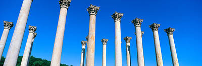 The First Capitol Columns Of The United Art Print by Panoramic Images