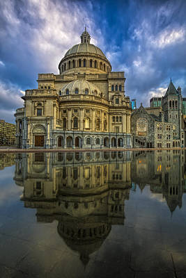Photograph - The First Church Of Christ Scientist by Susan Candelario