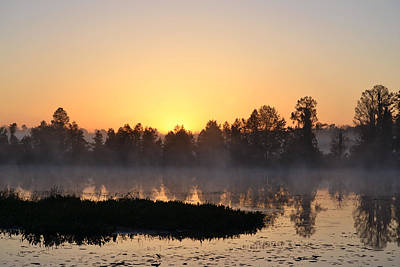 Photograph - The First Day Of April Sunrise by rd Erickson