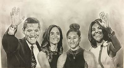 The First Family Print by Joseph Rutledge