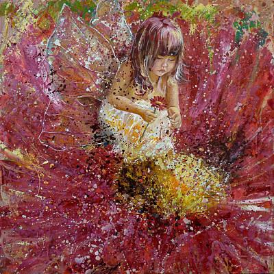 The First Love... Loves.... Art Print by Irina Sushelnitskaya