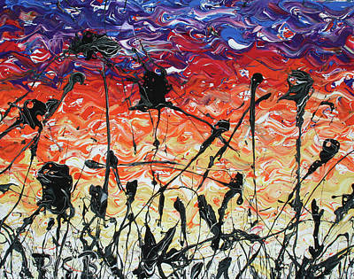 Painting - The First March Of A Dying Breed by Ric Bascobert