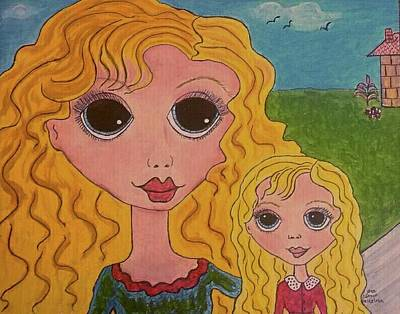 First Daughters Painting - The First Presentation by Janice Heinzelman