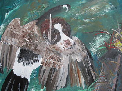 Painting - The First Retrieve by Susan Snow Voidets