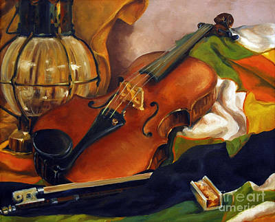 Painting - The First Violin by Suzanne McKee