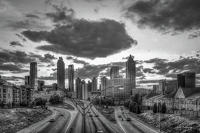 Photograph - The Fish Cloud Atlanta Sunset Art by Reid Callaway
