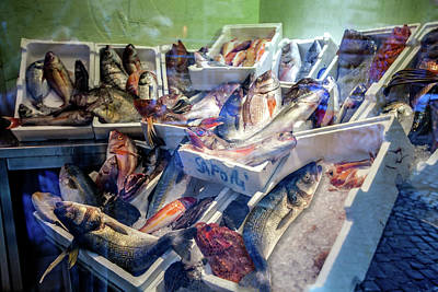 Photograph - The Fish Market by Al Hurley