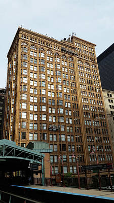 Photograph - The Fisher Building by Zac AlleyWalker Lowing