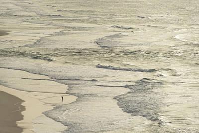 Photograph - The Fisherman And The Sea by Georgia Mizuleva