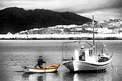 Photograph - The Fisherman Fusion by John Rizzuto