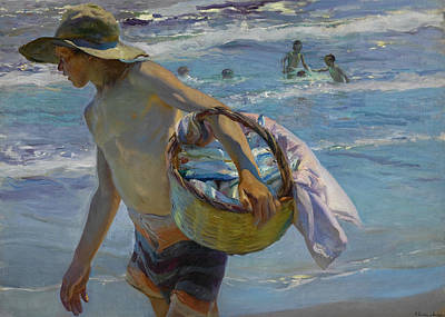Sorolla Painting - The Fisherman by Joaquin Sorolla