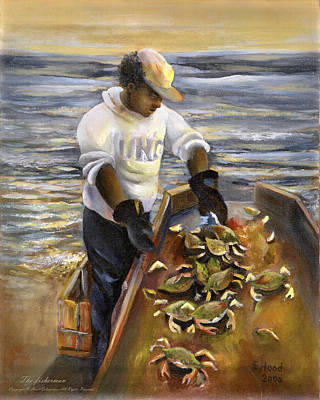 Print - The Fisherman by Lee Hood