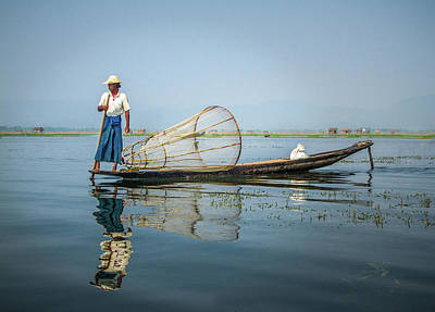 Photograph - The Fisherman by Mark Coran