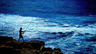 Photograph - The Fisherman by Wayne Wood