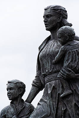 Photograph - The Fisherman's Wives Memorial by Mike Martin