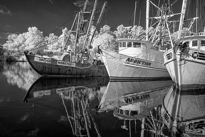 Photograph - The Fishing Fleet At Swan Quarter by Gordon Ripley