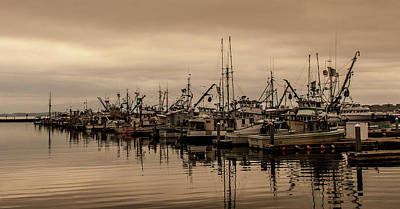 Photograph - The Fishing Fleet by Tony Locke