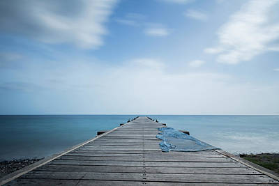 Photograph - The Fishing Pier by Prashant Meswani