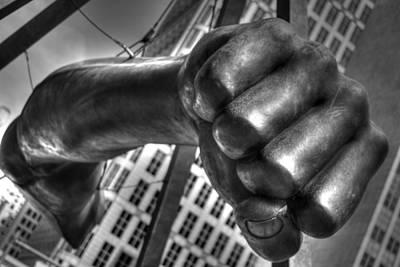 Detroit Tigers Art Photograph - The Fist by Chris Coleman