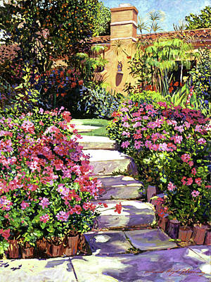 Painting - The Five Steps by David Lloyd Glover