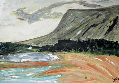 Painting - The Fixed Mountain And All That Moves Because Of It / Sligo Scenes by Dawn Richerson