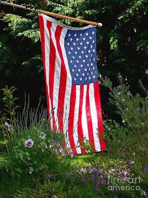 Usa Flag Photograph - The Flag by Marc Bittan