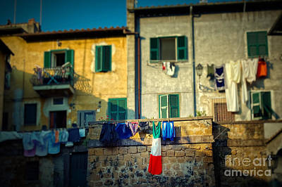 Photograph - The Flag Needed Washing by Silvia Ganora