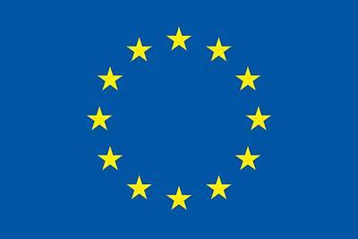 The Flag Of The European Union Art Print
