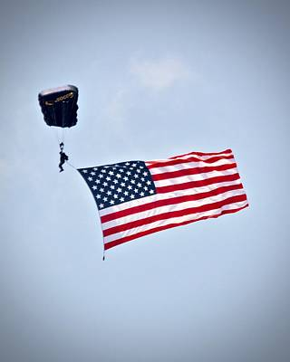 Photograph - The Flag Of The United States Of America by Carol Bradley